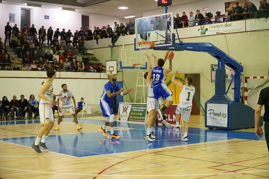 Gran victoria del Afanion CB Almansa ante Levitec Huesca