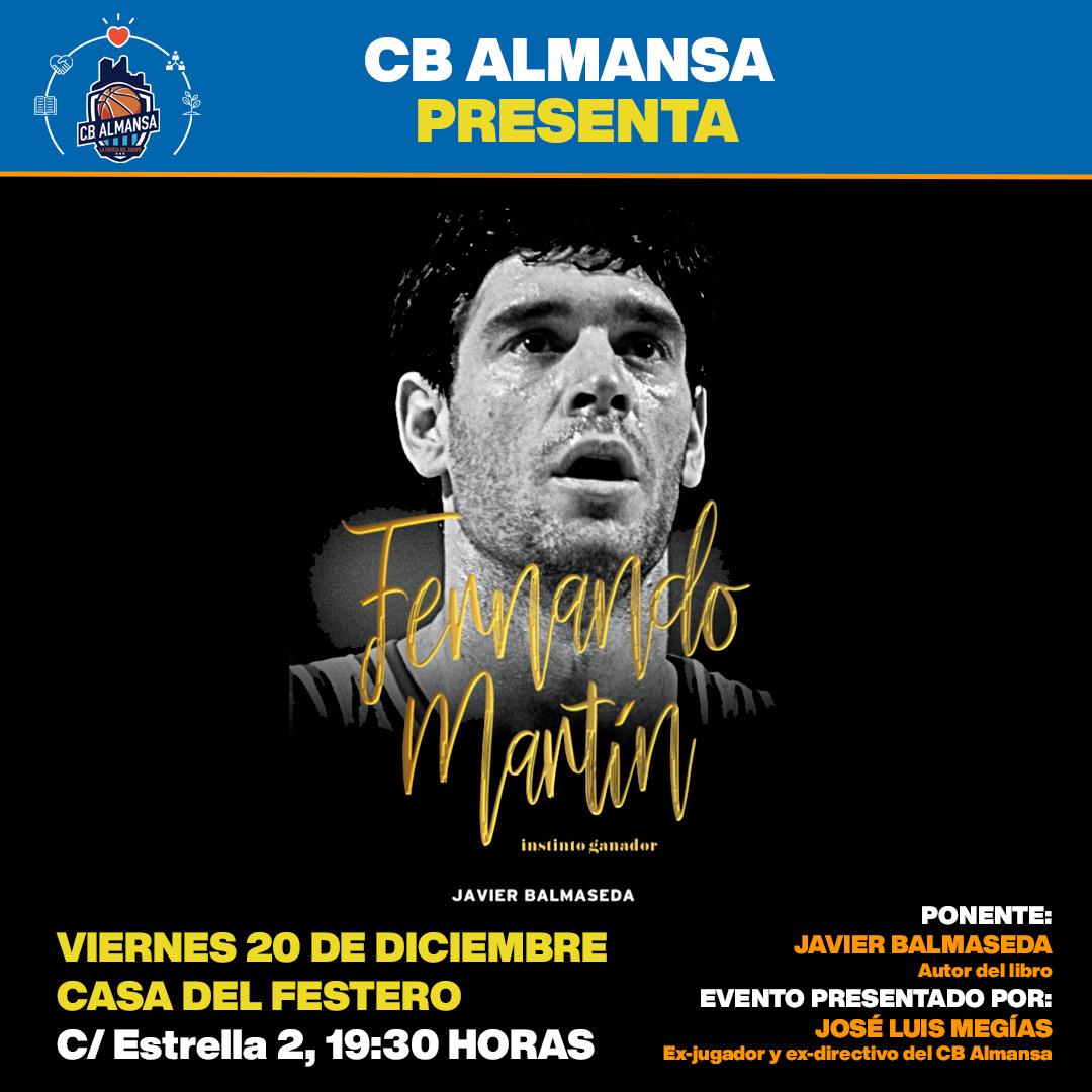Área Social CB Almansa. Presentación Libro Javier Balmaseda