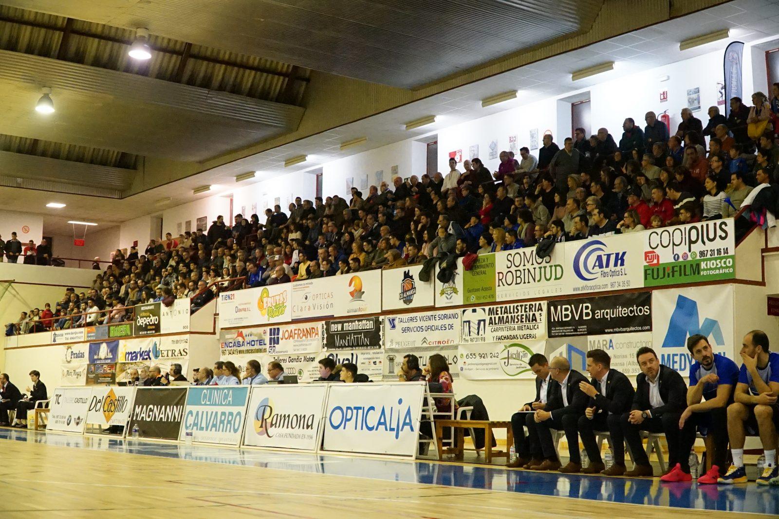 El CB Almansa podrá acoger público la próxima jornada