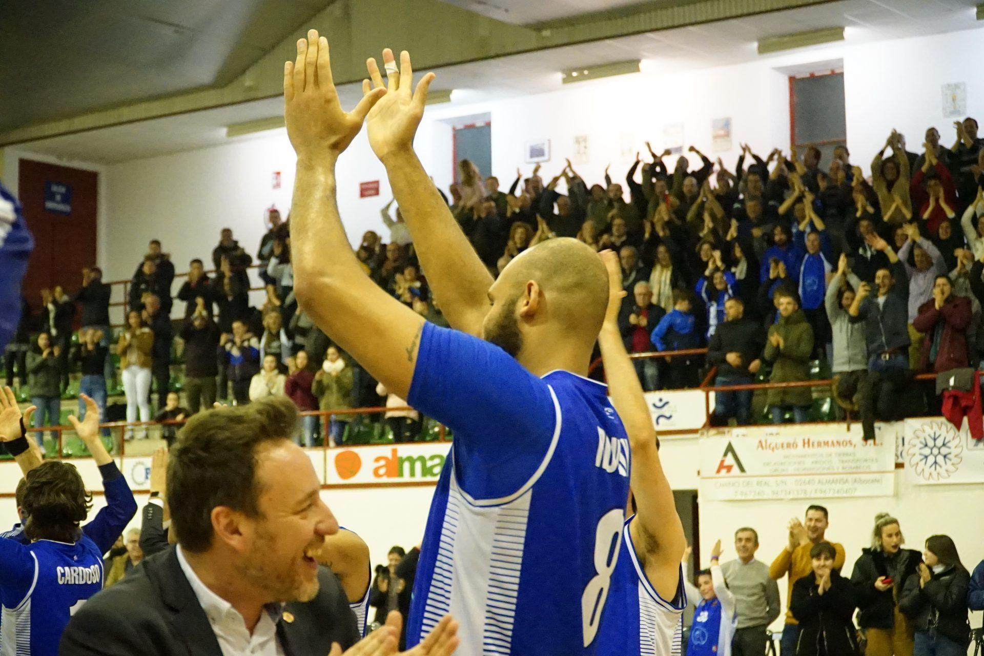 Afanion CB Almansa Força Lleida Kyle Rowley