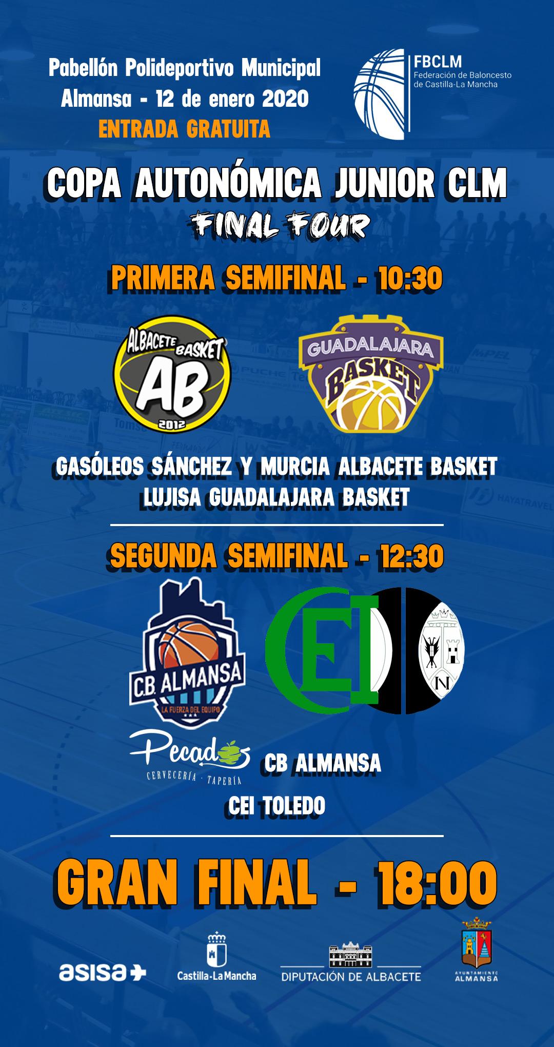 Cartel Copa Junior Autonómica 2020