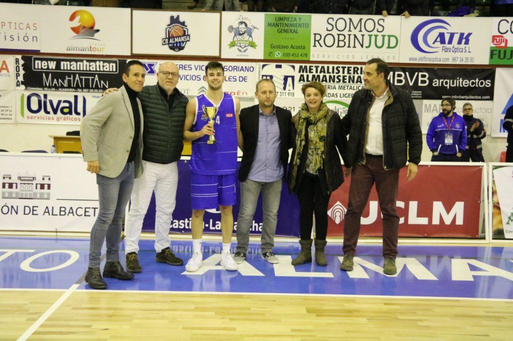 Koke García, MVP del torneo tras anotar 26 puntos en la final