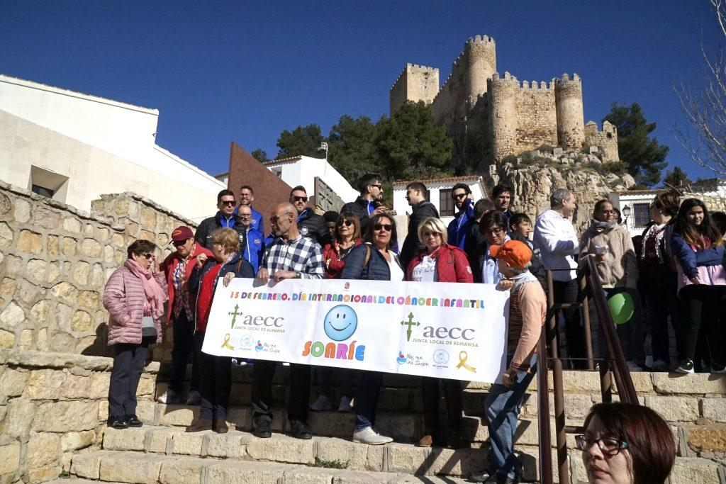 AECC, el Ayuntamiento de Almansa, Más Que una Ilusión, Afanion y el CB Almansa participantes en este evento