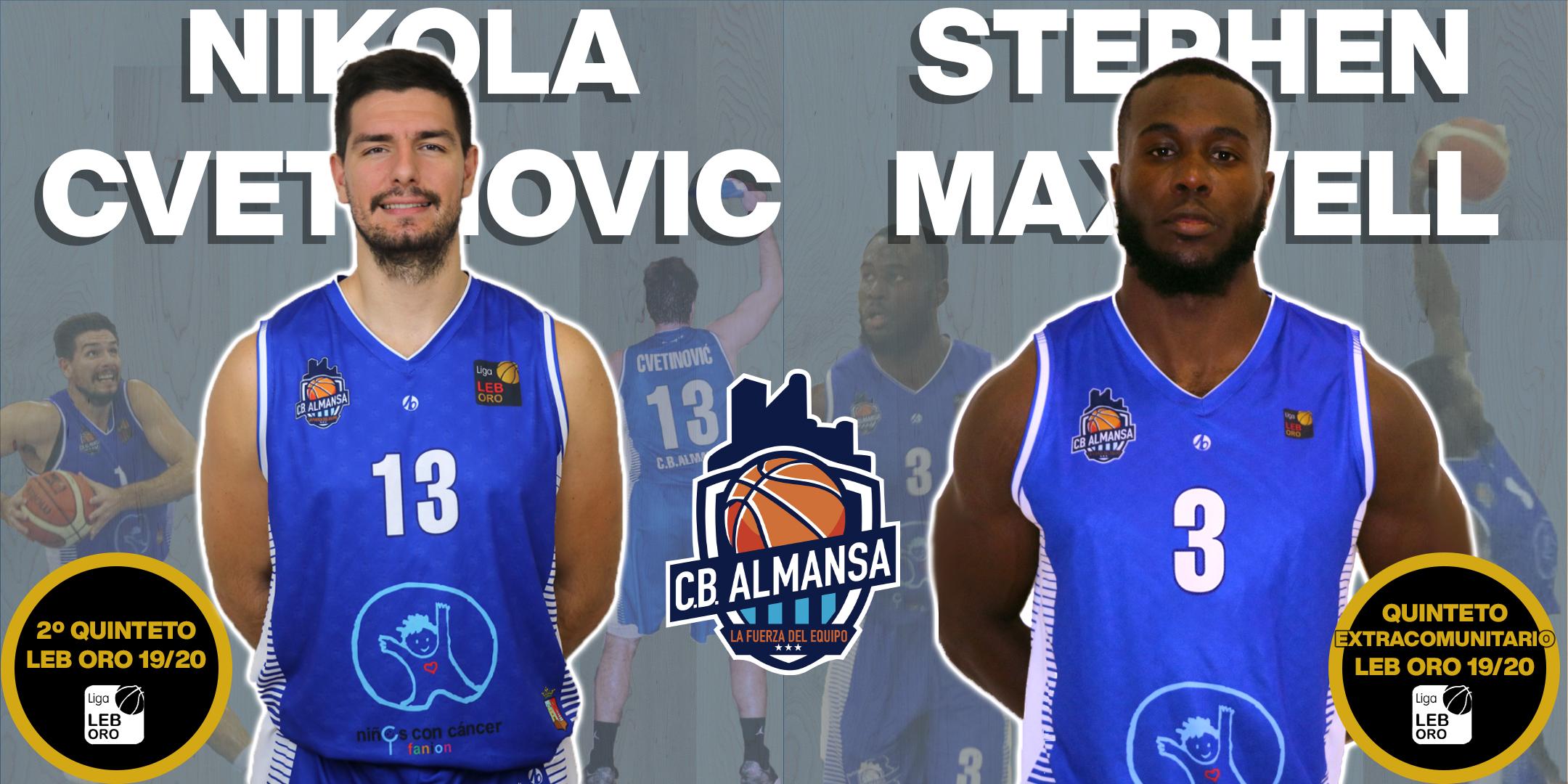 Cvetinovic y Maxwell, premiados en Eurobasket.com