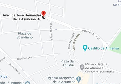 localización oficina cb almansa