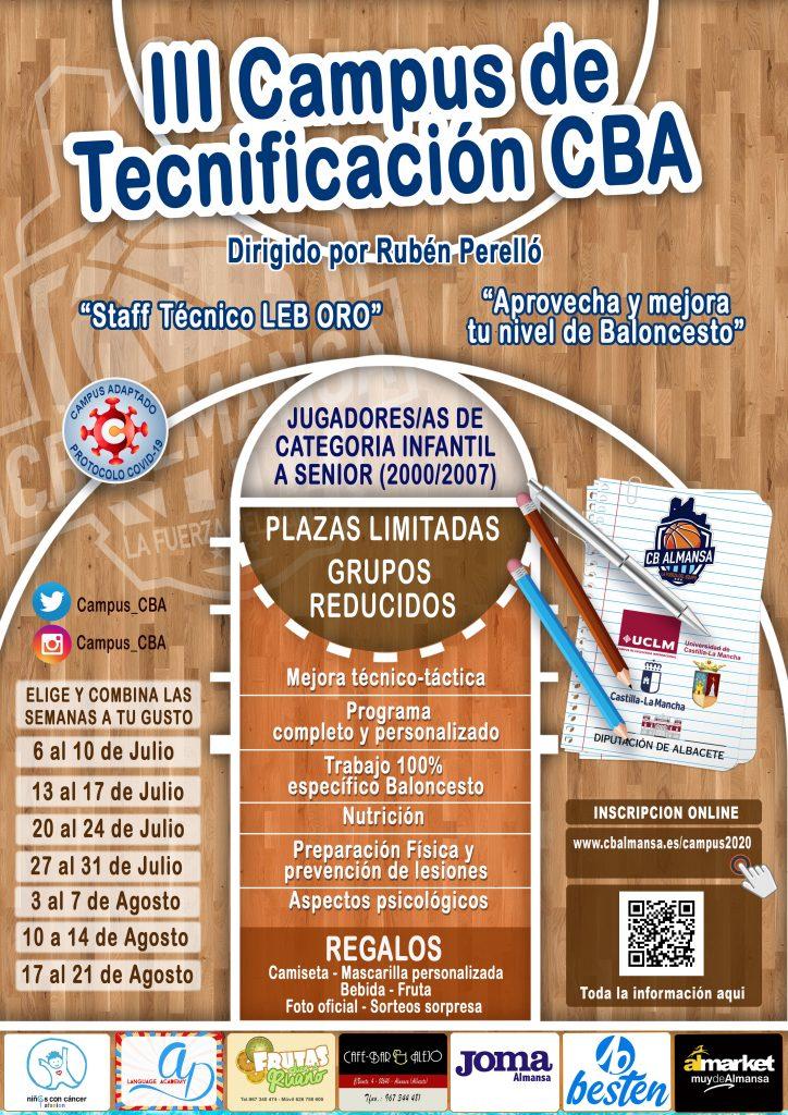 III Campus de Tecnificación del CB Almansa