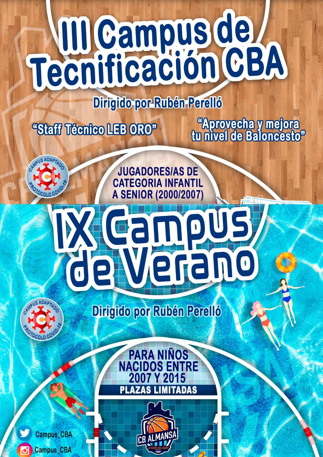 Campus de verano y tecnificación CB Almansa