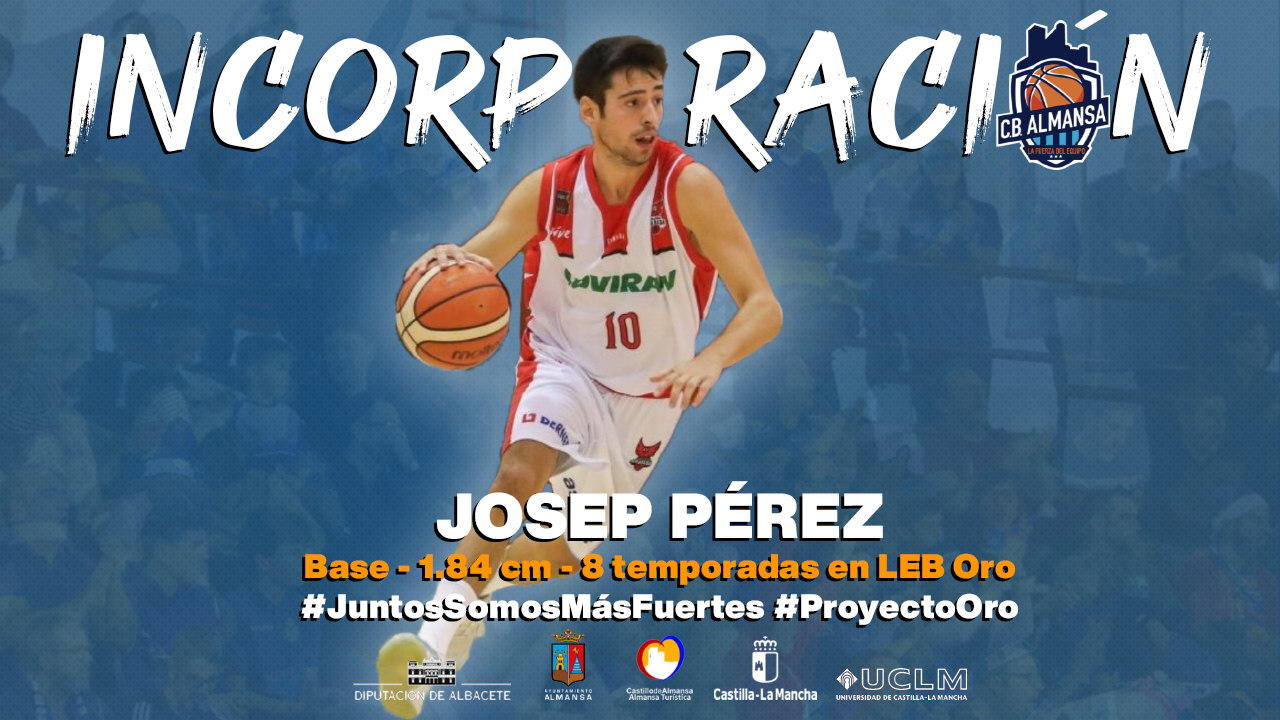 Josep Pérez fichaje CB Almansa