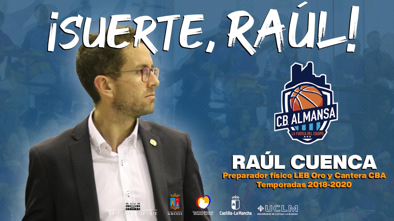 Raul Cuenca, preparador físico del CB Almansa 2018-2020