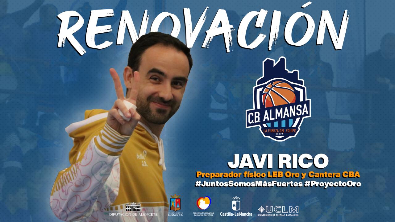Renovación Javi Rico CB Almansa