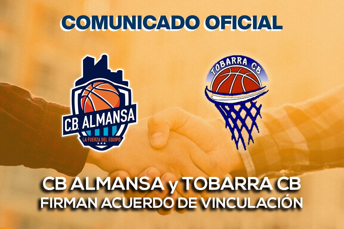 CB Almansa y Tobarra CB firman acuerdo de vinculación