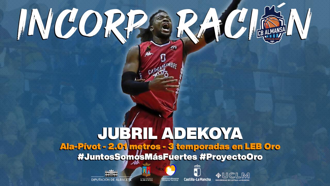 Jubril Adekoya, nuevo jugador del CB Almansa
