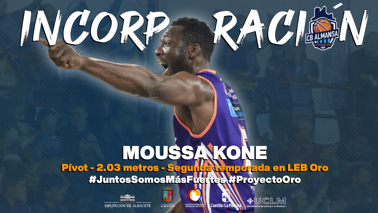 Moussa Kone, pívot CB Almansa
