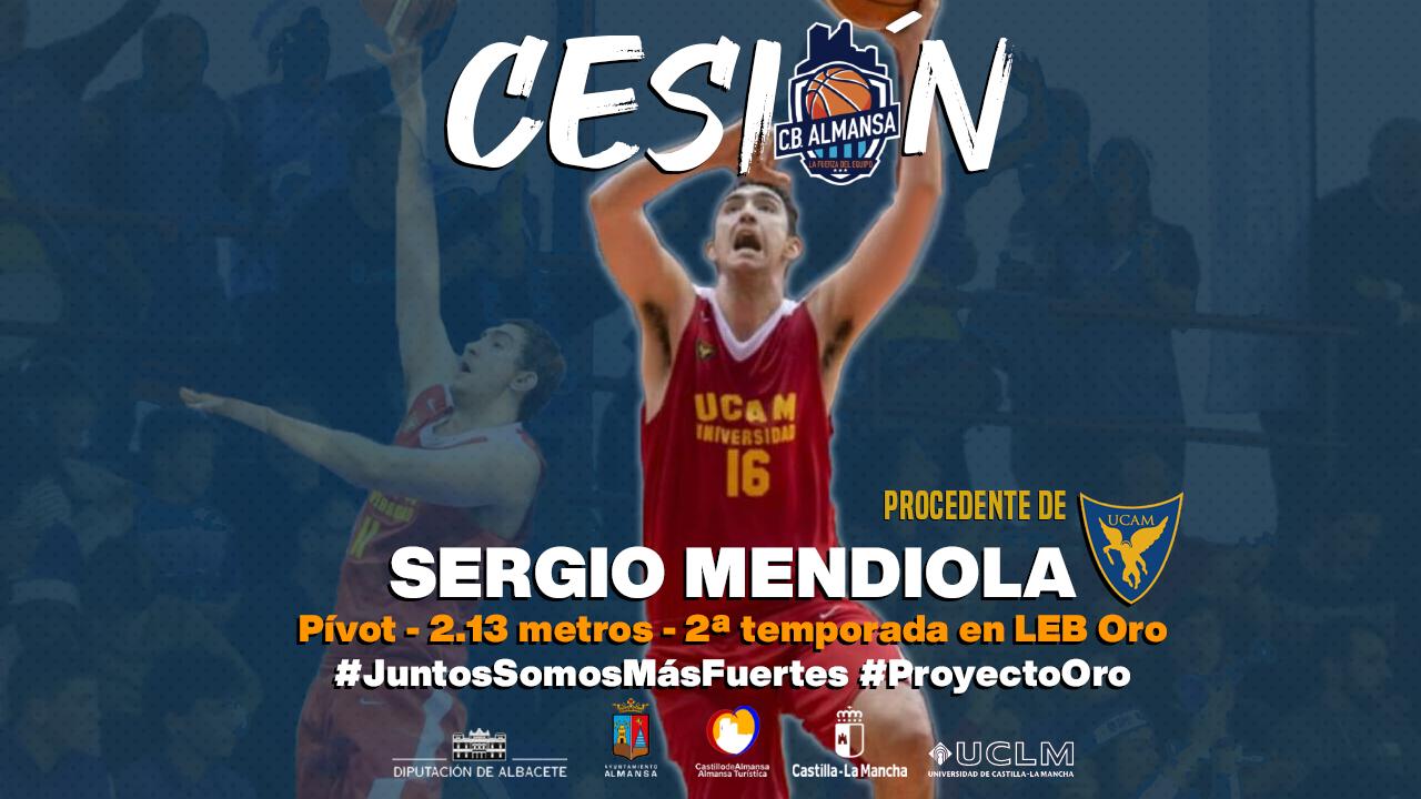 Sergio Mendiola, cedido al CB Almansa procedente de UCAM Murcia
