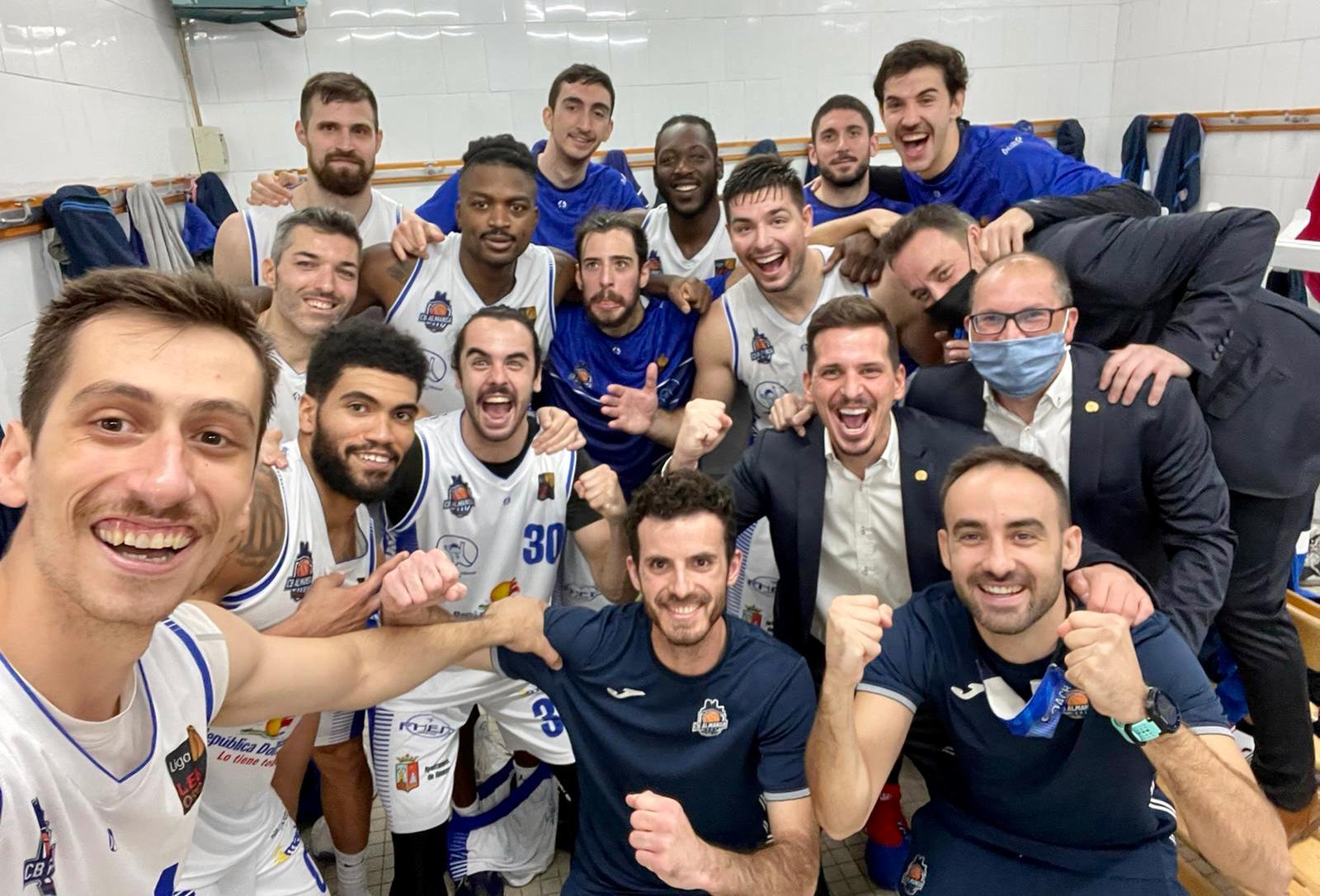 El CB Almansa con AFANION consigue la tercera victoria en Girona