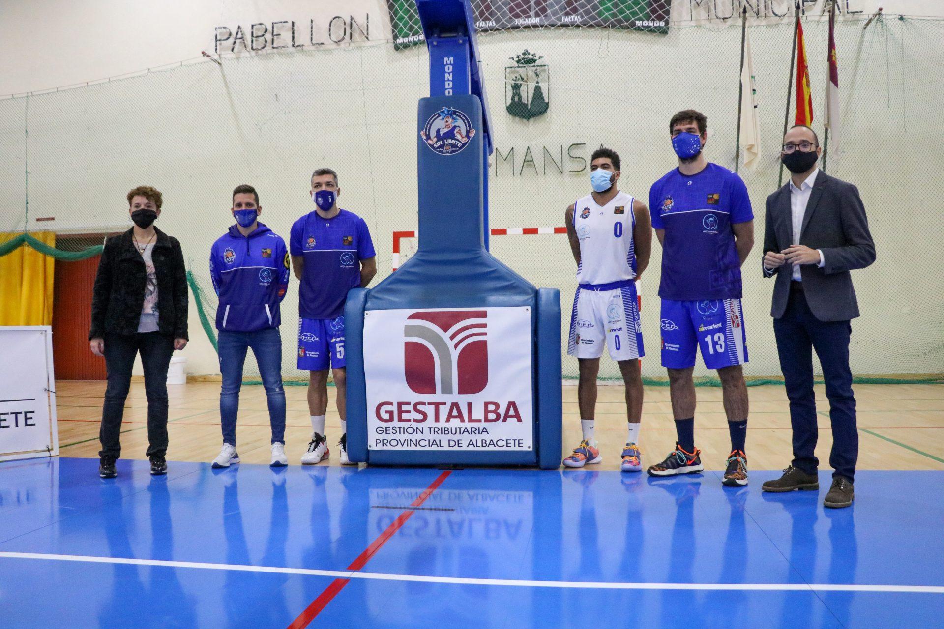 Diputación y CB Almansa renuevan su colaboración