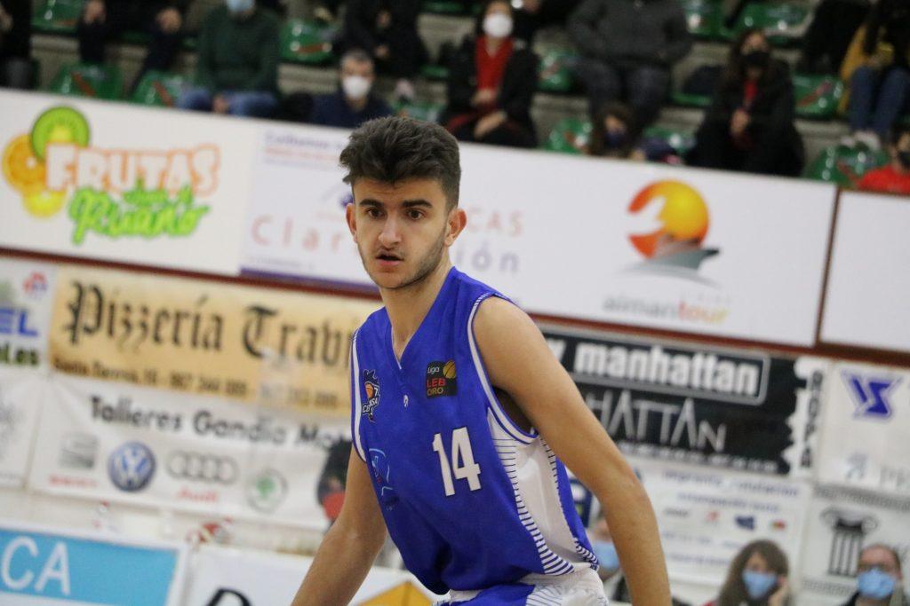 José Alberola debutó con el CB Almansa con AFANION de LEBORO
