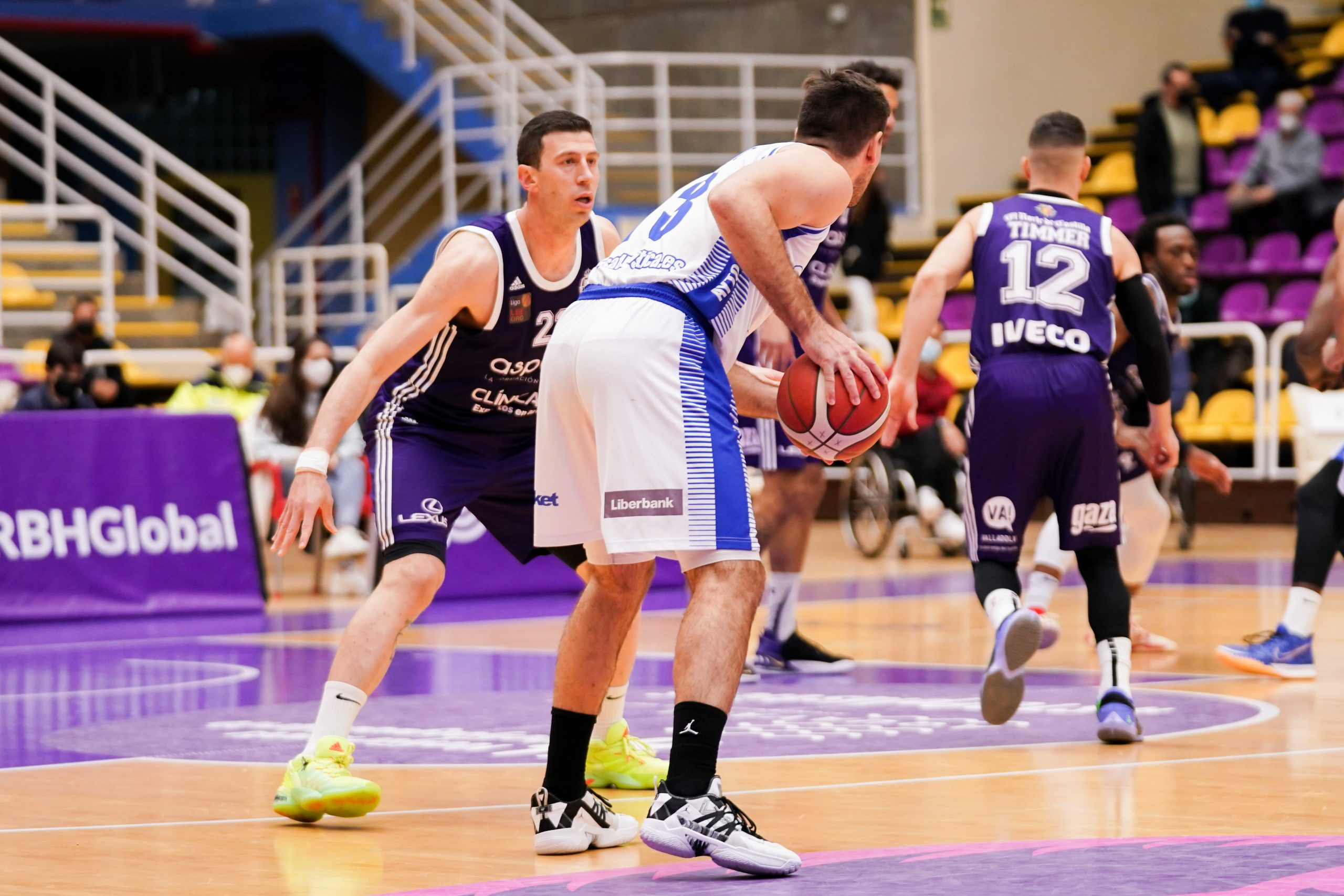 Real Valladolid Baloncesto vs CB Almansa con AFANION