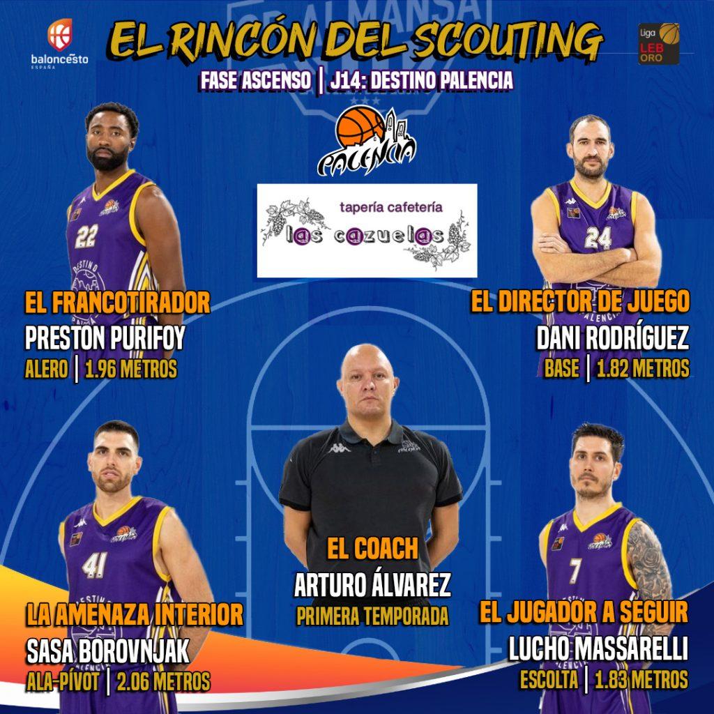 El Rincón del Scouting: Destino Palencia