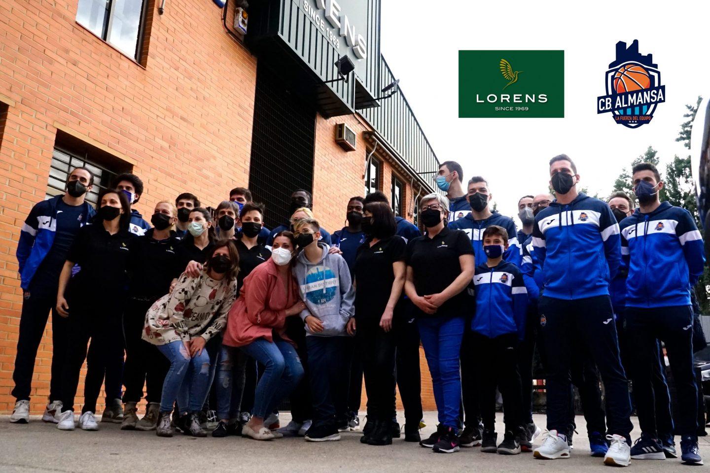 CB Almansa visita la fábrica de Lorens