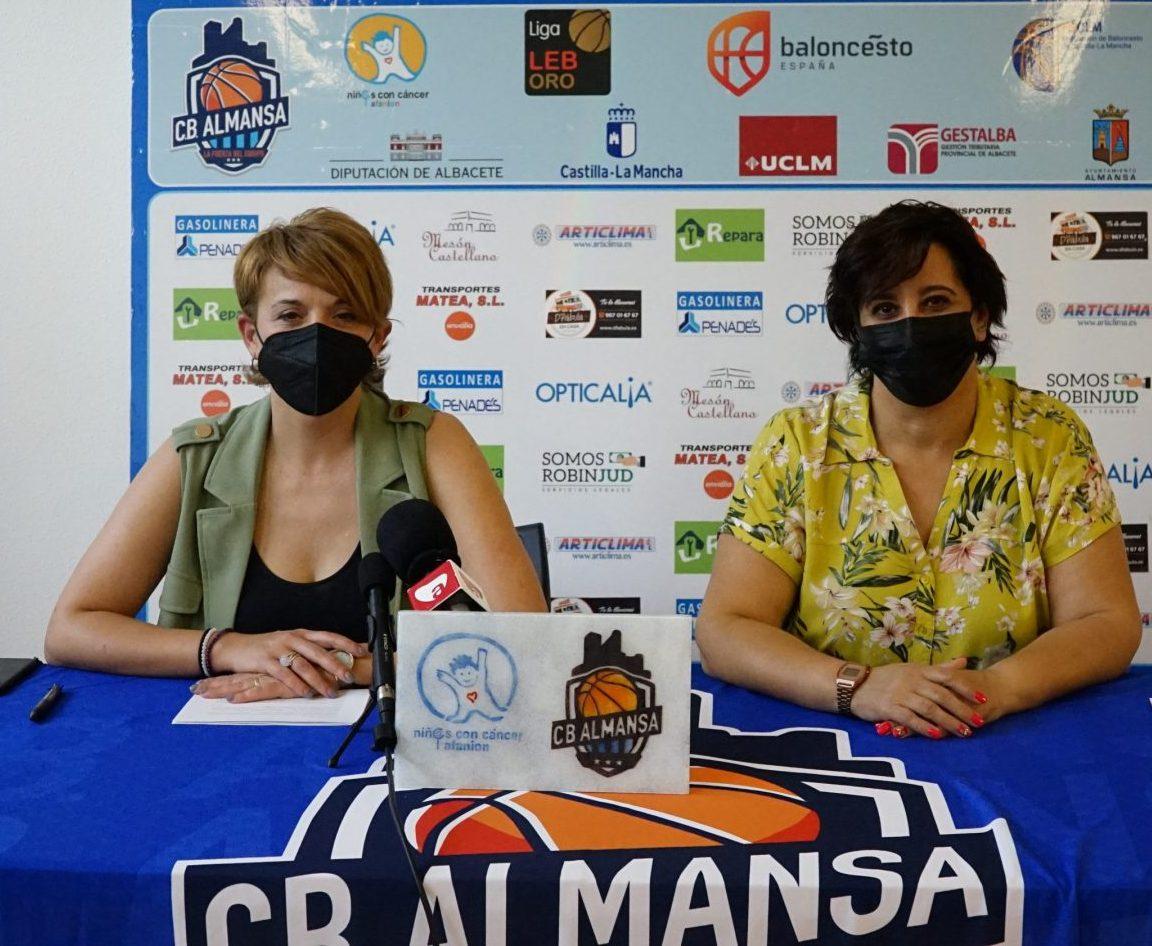 Ana Matea y Matilde Cuenca presentan la temporada 2021/2022 cb almansa