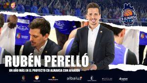 Rubén Perelló, un año más en el CB Almansa con AFANION
