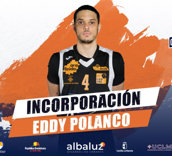Eddy Polanco, nuevo jugador del CB Almansa con AFANION