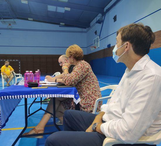 Primera asamblea de socios del CB Almansa