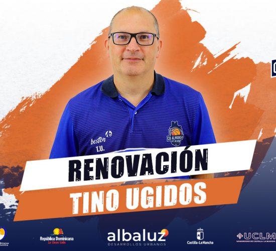 Tino Ugidos seguirá un año más en el CB Almansa con AFANION