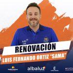 Luis Fernando Ortiz Sama continuará en el CB Almansa por sexta temporada consecutiva