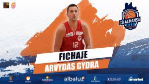 Arvydas Gydra, ala-pívot para el CB Almansa con AFANION