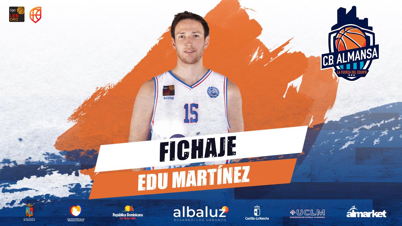 Edu Martínez, experiencia y amenaza exterior para el CB Almansa con AFANION