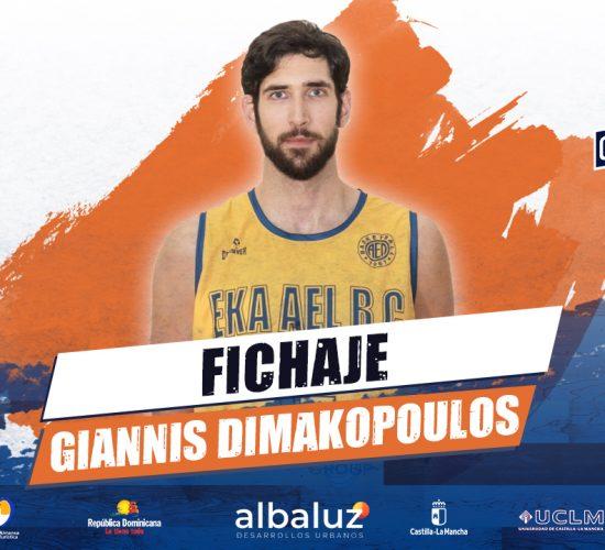 Giannis Dimakopoulos, nuevo pívot para el CB Almansa con AFANION