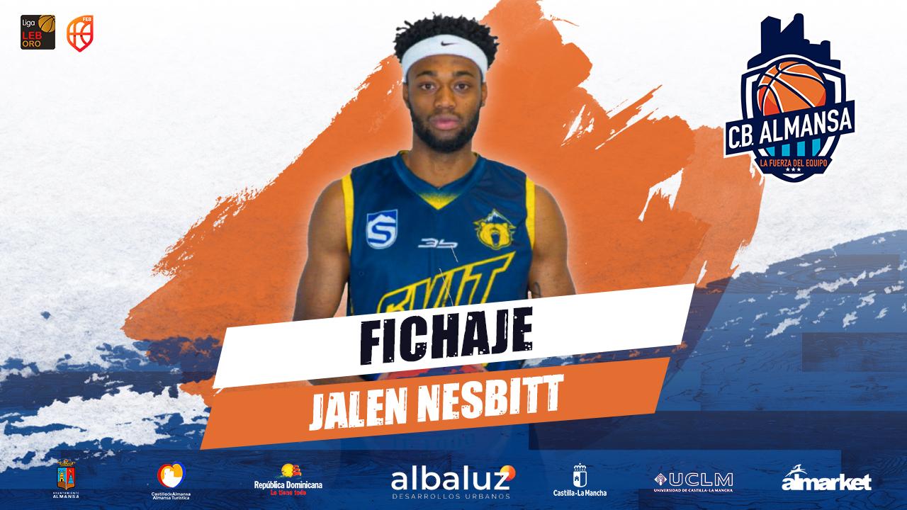 Jalen Nesbitt, nuevo alero para el CB Almansa con AFANION