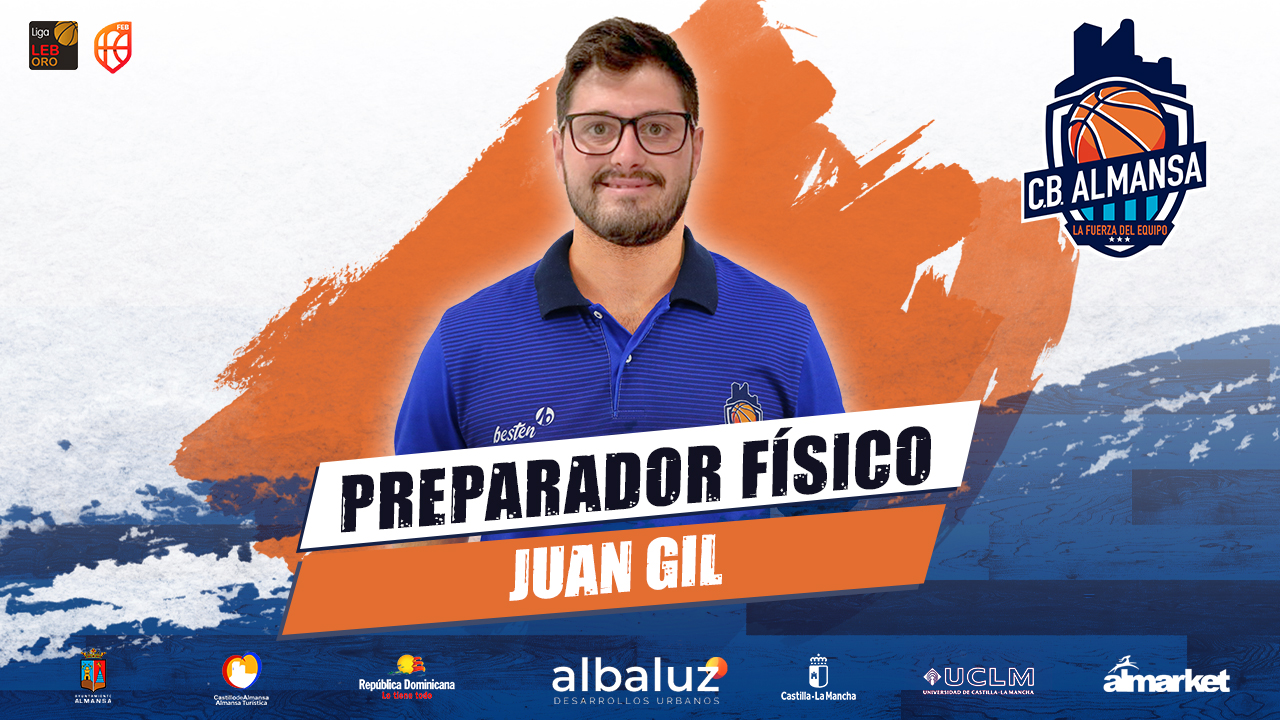 Juan Gil, preparador físico del CB Almansa