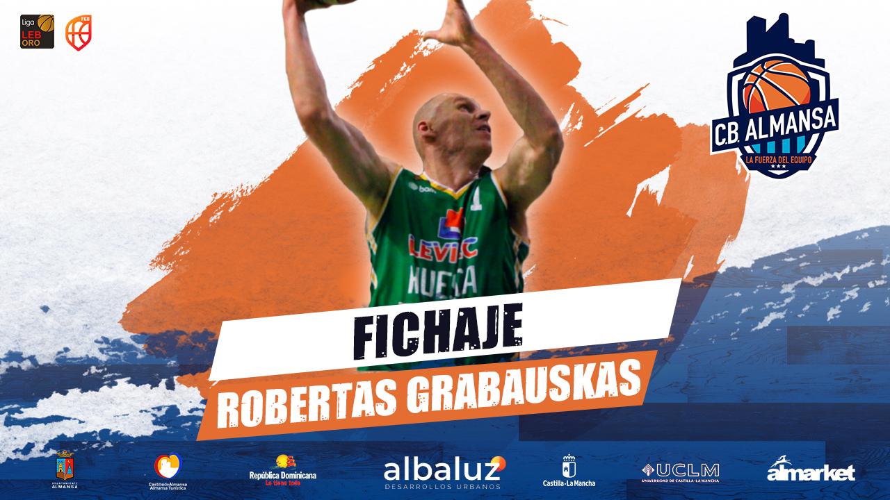 Robertas Grabauskas, primer pívot para el CB Almansa con AFANION