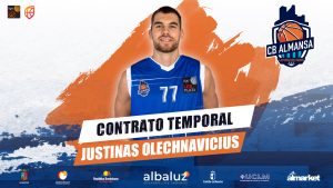 Justinas Olechnavicius llega a Almansa con temporal