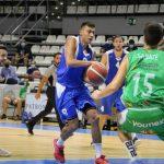 Fabio Santana aportó 11 puntos en el encuentro ante TAU Castelló