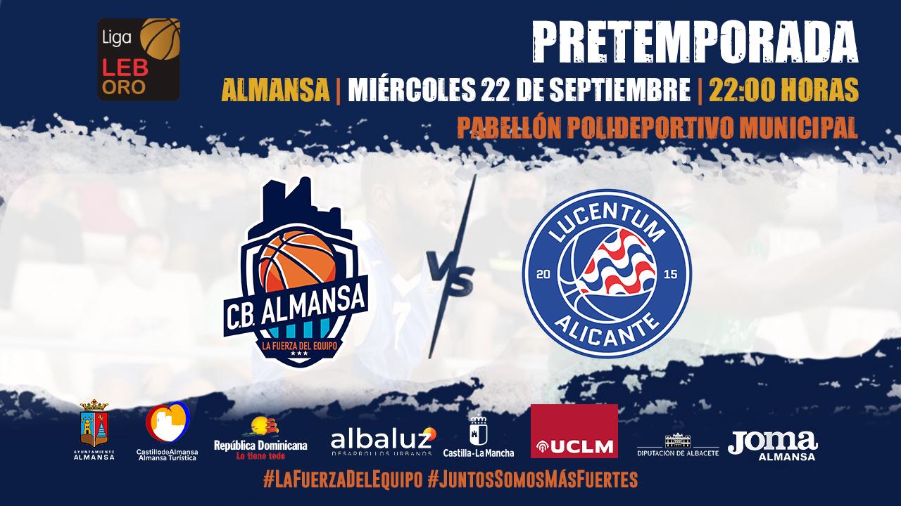 CB Almansa con AFANION vs HLA Alicante